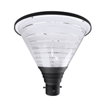 100W HOURGLASS POST TOP LIGHT AC120-277V